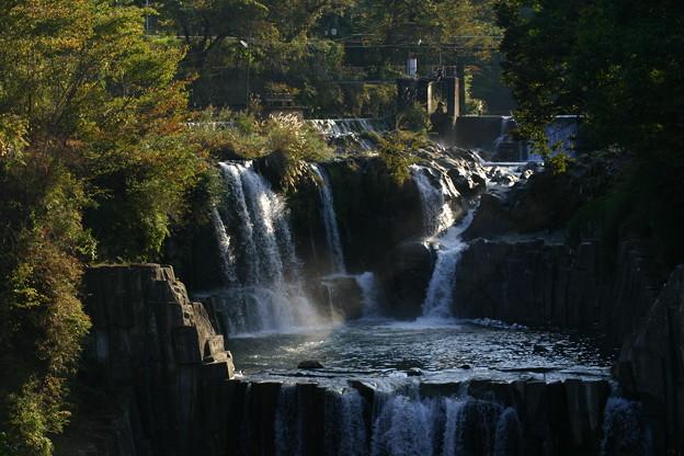 山梨 田原の滝