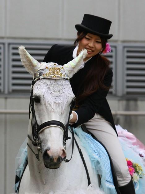 写真: 川崎競馬の誘導馬05月開催 誕生日記念レースVer-07-large