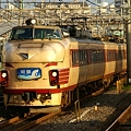 Photos: 朝4時起きの目的、489系急行「能登」号
