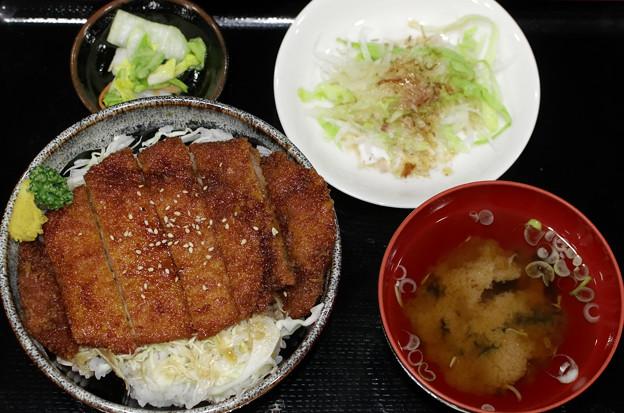 高遠温泉・さくらの湯の「ソースカツ丼」