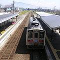 写真: 知床斜里駅2