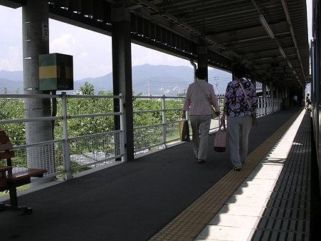 今井駅ホーム