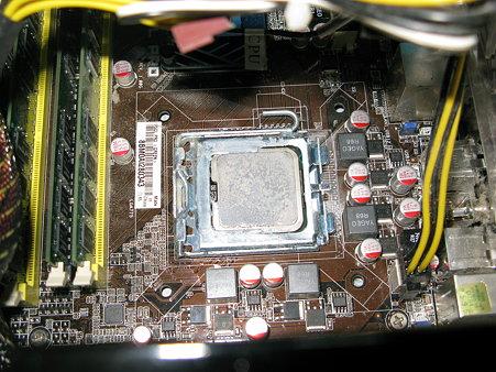 2009.07.28 CPU換装(3/3)