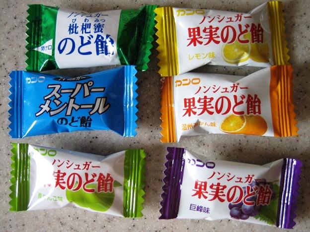カンロのど飴3種セット 6種類