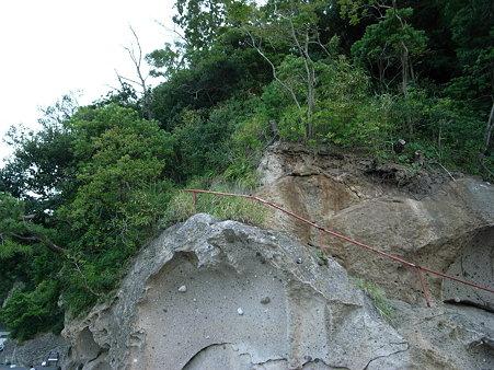 日和山遊歩道の日和山へ上る階段