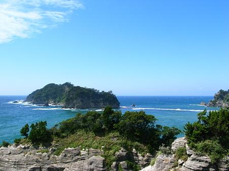 トンボロ現象が見れる三四郎島(さんしろうじま)