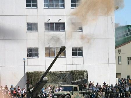 FH70の空砲射撃その2