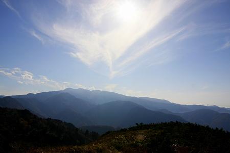 三方岩岳 山頂から 白山を望む