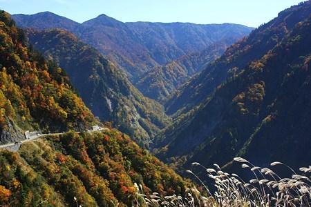 国見展望台から(3) 白山スーパー林道