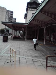 ちゅーさん門司港駅からさらに旅だつ