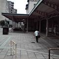 写真: ちゅーさん門司港駅からさらに旅だつ