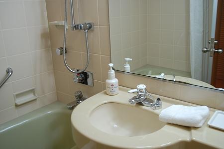 白鳥路ホテル バスルーム