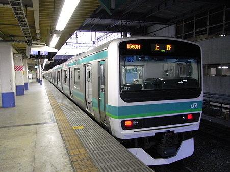 E231系常磐線(北千住駅)