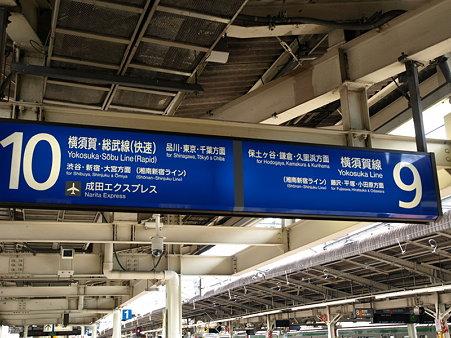 横須賀線乗り場(横浜駅)