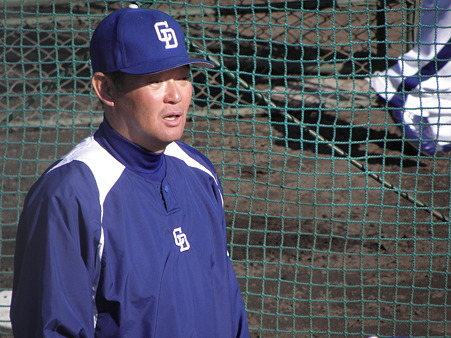 027 早川コーチが練習についてました