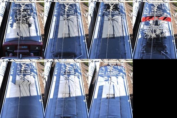 近鉄1240系1240F(VC40)屋根上(伊勢方より撮影) 2010.12.17