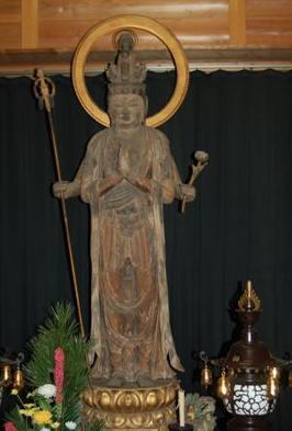 滋賀穴太の里 盛安寺秘仏 十一面観音立像