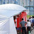8月24日神慈秀明会集会所建設起工式準備11