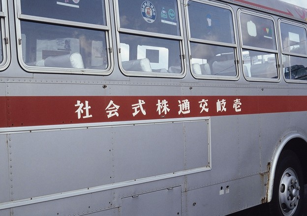 壱岐交通のバス