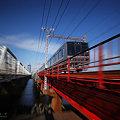 写真: 鉄橋を越えれば・・・・