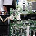 写真: XP-50 音源基盤コード接続確認用1