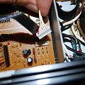 写真: XP-50 エクスパンションボード部分コード接続確認用1
