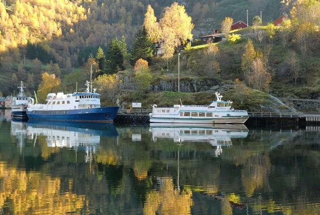 ノルウェーの水辺
