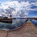 2012年5月12日 清水港水上バス 塚間乗り場 360度パノラマ写真(1)