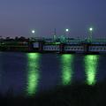 Photos: 夜の水門