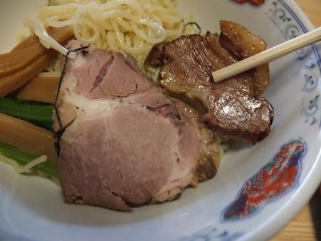 らあめん花果山 背脂つけ麺(夏季&平日限定) チャーシューアップ