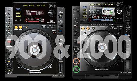 cdj900&2000