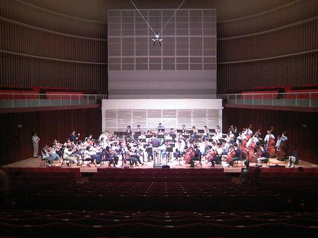 長岡交響楽団第50回定期リハーサル風景