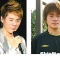 Photos: 【左:ジュンス 右:小林祐三】似てると思う(笑)