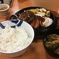 Photos: 松屋 鉄皿コンビ定食