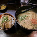 Photos: 麺屋やしち 醤油ラーメン+チャーシュー丼