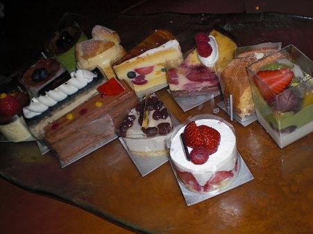 ケーキいっぱい