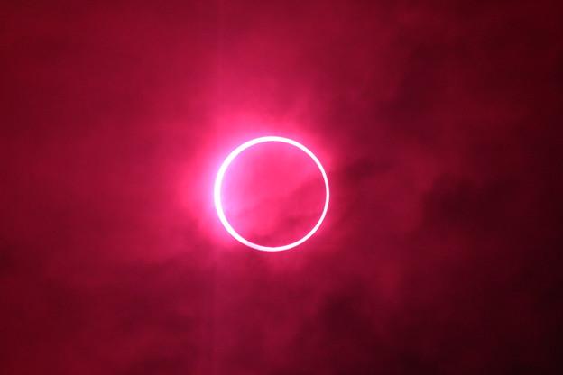 金環日食 1