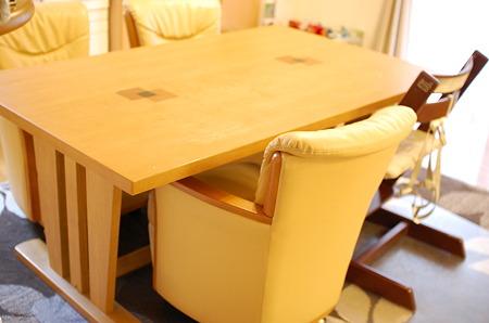 こたつ付きダイニングテーブルby大塚家具