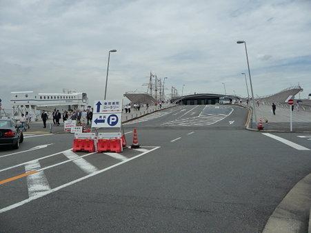 090718-大桟橋 帆船 (2)