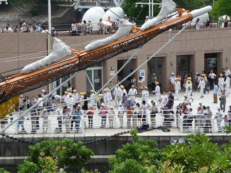 090720-日本丸 総帆展帆 (9)
