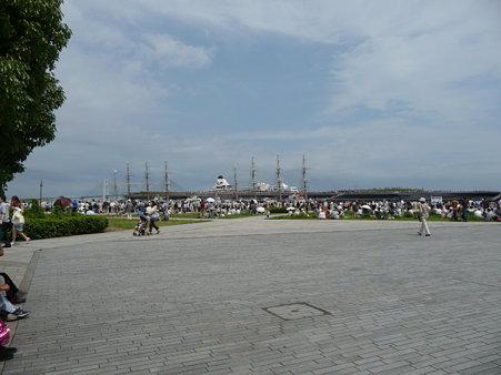 090720-大桟橋 総帆展帆