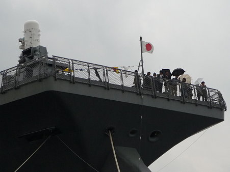 091024-ひゅうが 下船 (13)