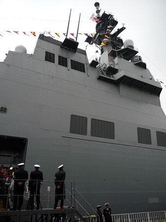 091024-ひゅうが 下船 (3)