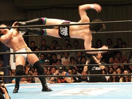 新日本プロレス BEST OF THE SUPER Jr.XIX 準決勝戦 Aブロック1位 PAC vs Bブロック2位 田口隆祐 (5)