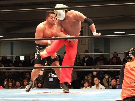 新日本プロレス CMLL 後楽園ホール 20110123 (3)