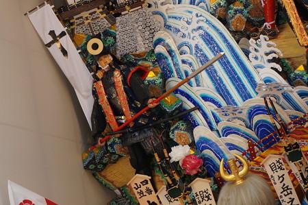 04 2014年 博多祇園山笠 飾り山笠 賤ヶ岳之戦壽 中洲流 (9)