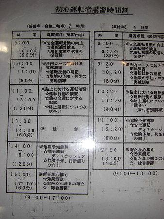 本日のプログラム(7時間の方)