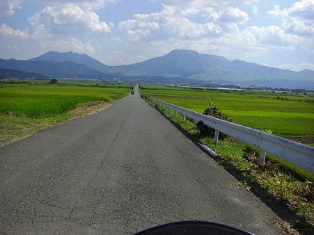 すげー直線道路