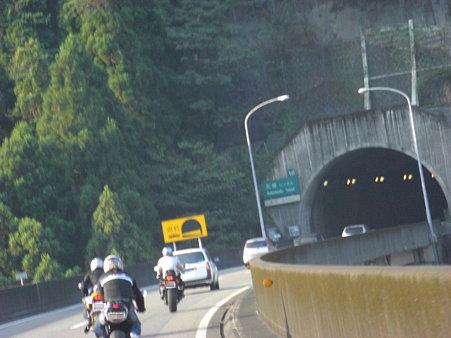 肥後トンネル・・・このあとOhIkeさん飛ぶ