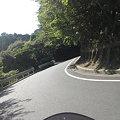 写真: 割子川方面に出るクネクネ